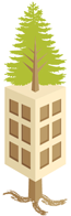 we grow green buildings tree clt